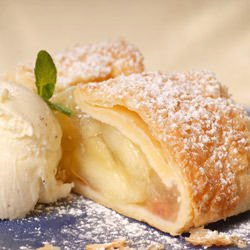 Quick Strudel with Puff Pastry