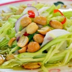Asian Cucumber Salad with Honey Dressing