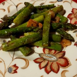 Fried Asparagus in Butter