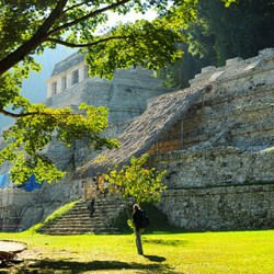 Mysterious Temple Revealed in a Mexican Pyramid after Earthquake