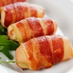 Chicken Fillets in Bacon