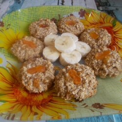 Oatmeal Banana Biscuits