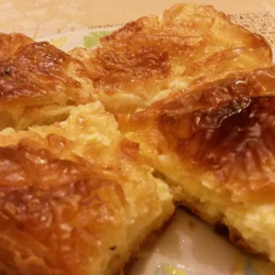 Phyllo Pastry with Milk and Carbonated Water