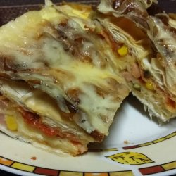 Phyllo Pastry Pizza