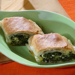 Common Butterbur Pie with Feta Cheese