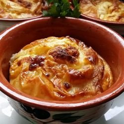 Fluffy Phyllo Pastries in a Clay Pot