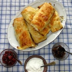 The Tastiest Phyllo Pastries with Feta Cheese