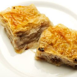Turkish Delight and Walnut Pie