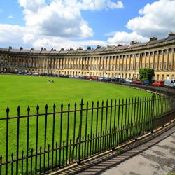 Harz Mountains - Royal crescent in Bath