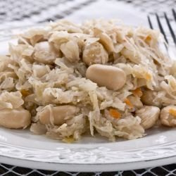 Kopiska - Bean and Sauerkraut Dish