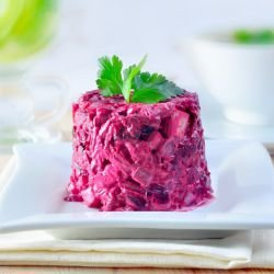 Beet Salad with Mayonnaise