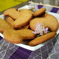 Wholemeal Cookies with Honey and Milk