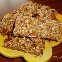 Biscuits with Oats and Bananas