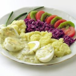 Eggs with Tartar Sauce
