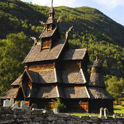 Mont Tremblant - Borgund Stave Church
