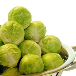 Brussels Sprouts with Potatoes