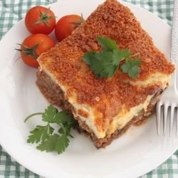 Easy Moussaka with Potatoes and Zucchini