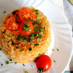 Pilaf with Vermicelli and Grits