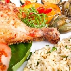 Dutch Rice with Chicken