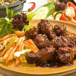 Chicken with Soya Sauce and Sesame