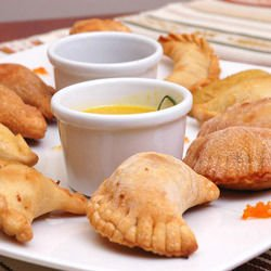 Caucasian Pirozhki with Chicken and Potatoes