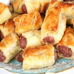 Puff Pastry Bites with Mince