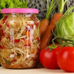 Parboiled Pickle with Cabbage