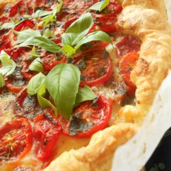 Caprese Pizza with Puff Pastry