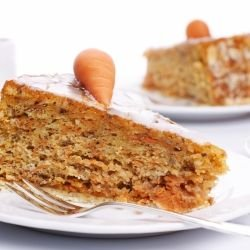 Carrot Cake with Brown Sugar
