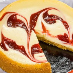 cheese cake with syrup