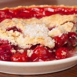 Fancy Cherry Pie