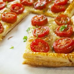 Italian Summer Pie with Tomatoes