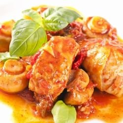 Stewed Portuguese Chicken