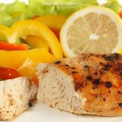 Oven Grilled Chicken Steaks
