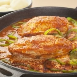 Chicken with Peppers and Tomatoes