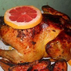 Aromatic Chicken with Thyme and Grapefruit