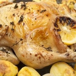 Lemon Chicken with Potatoes in the Oven