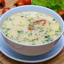 Easy Chicken Soup with Milk