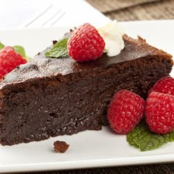 Elegant Chocolate Cake without Flour
