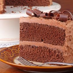 Elegant Chocolate Cake with Mascarpone