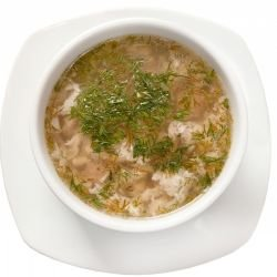 Rabbit Soup with Semolina