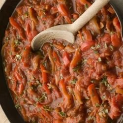 Peppers in Tomato Sauce