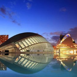 City of Arts -  City of Arts and Sciences in Valencia