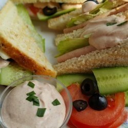 Club Sandwiches with Special Sauce