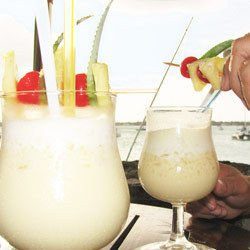 Banana Bomb Cocktail