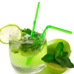 Refreshing Drink with Mint
