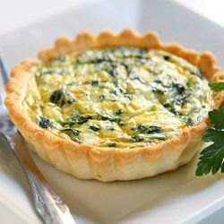 Tartlets with Spinach and Feta Cheese
