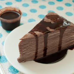 Pancake Cake with Chocolate