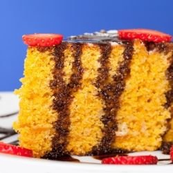 Yellow Cocoa Cake