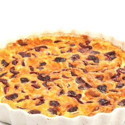 Cherry Pie with Cottage Cheese